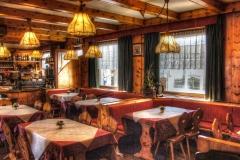 sala interna ristorante tagliede