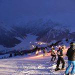 fiaccolata presso ski area sitas