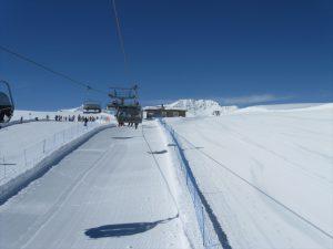 seggiovia presso ski area sitas