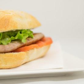 hamburger presso ristorante tagliede
