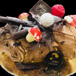 dessert preparato dalla pasticceria biancaneve e i 7 nani